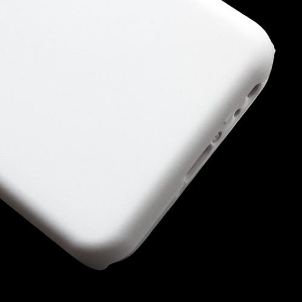 Wit effen hardcase iPhone 5C hoesje