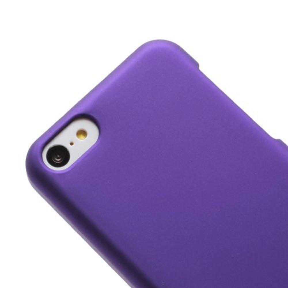 Paars effen hardcase iPhone 5C hoesje