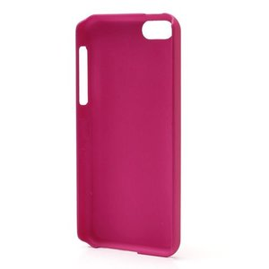 Roze effen hardcase iPhone 5C hoesje