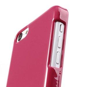 Roze glanzende iPhone 5C hardcase