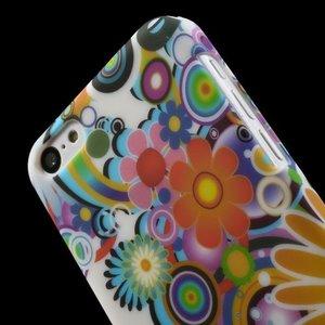 Flowerbomb iPhone 5C Hardcase hoesje