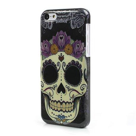 Artistic skull iPhone 5C Hardcase hoesje