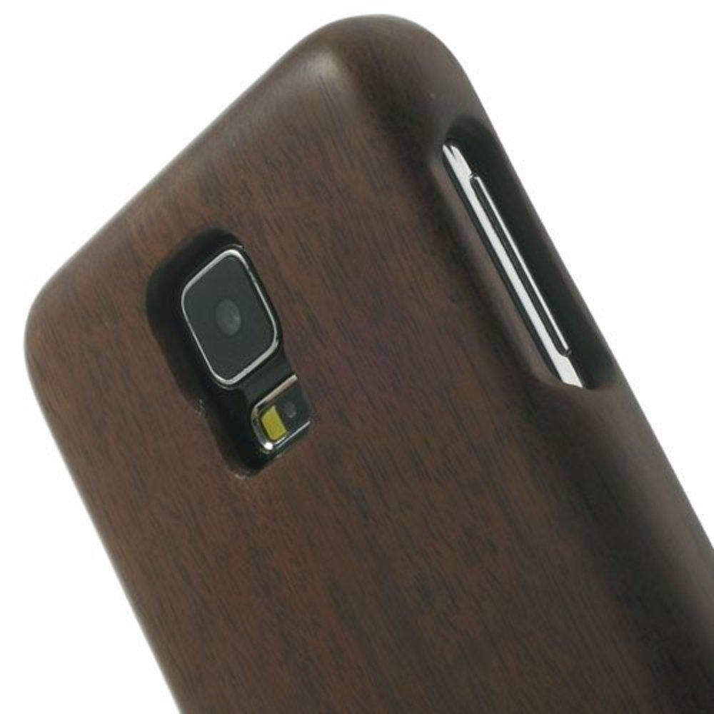 Walnoten houten Samsung Galaxy S5 hoesje