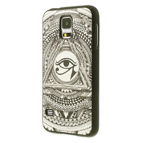 Oog van horus flexibel Samsung Galaxy S5 hoesje