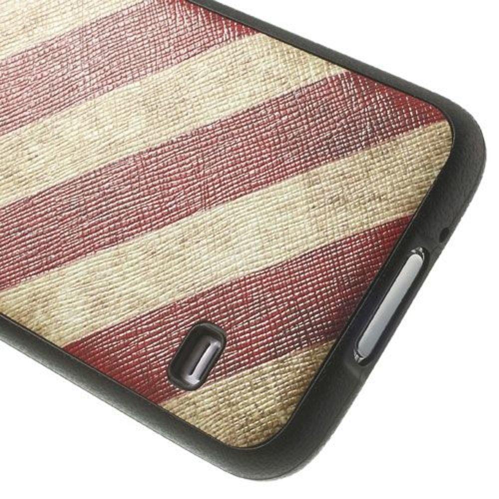 Amerikaanse vlag flexibel Samsung Galaxy S5 hoesje