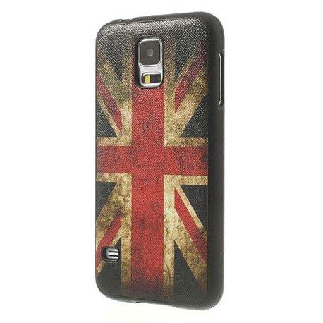 GB vlag flexibel Samsung Galaxy S5 hoesje