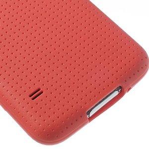 Samsung Galaxy S5 style tpu hoesje rood