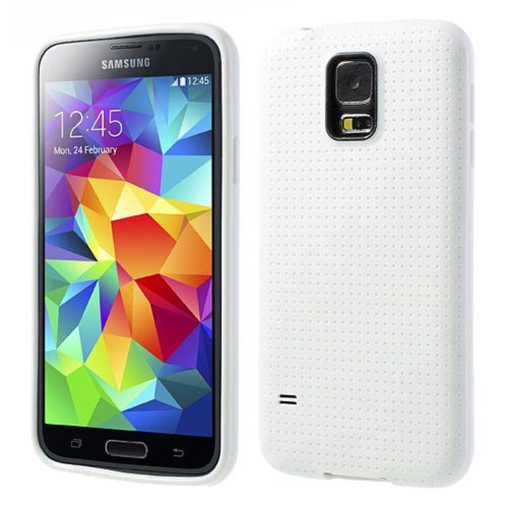 Samsung Galaxy S5 style tpu hoesje wit