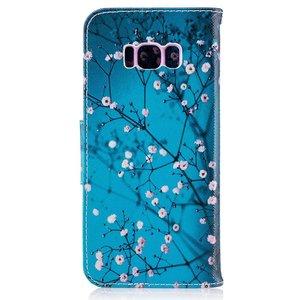 Samsung Galaxy S8 portemonnee hoesje bloesem