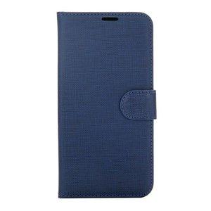 Blauw pu leren Samsung Galaxy S8 PLUS portemonnee hoesje