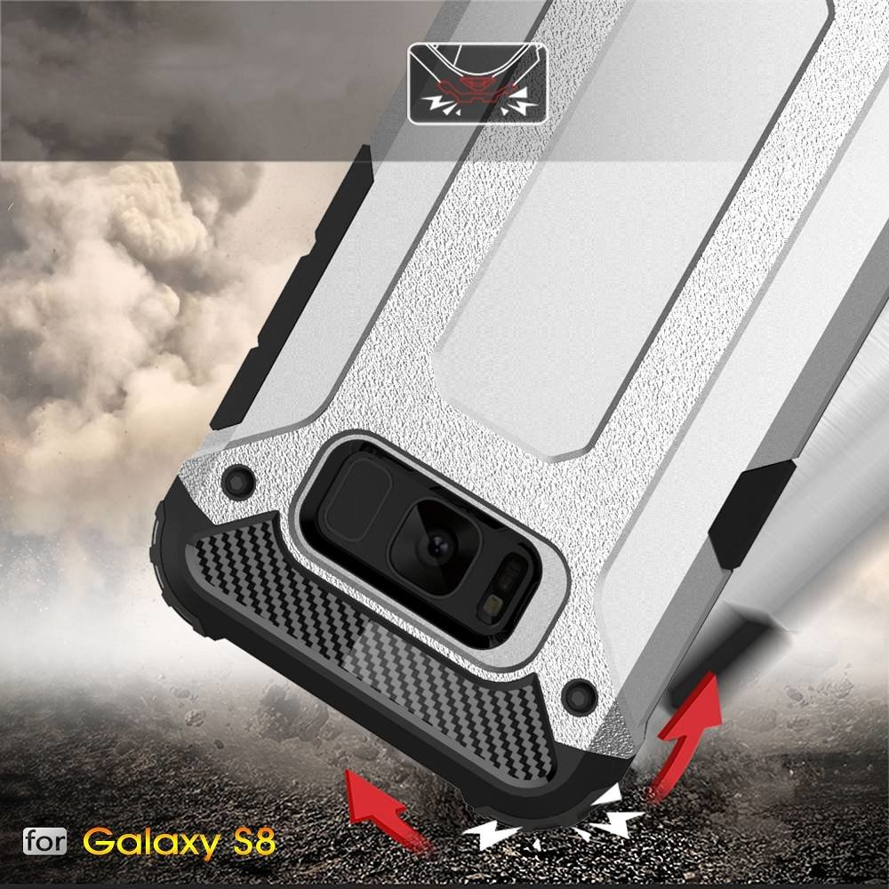 Armor protect hoesje  Galaxy S8  rood