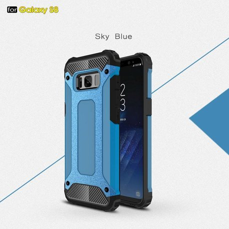 Armor protect hoesje  Galaxy S8  blauw