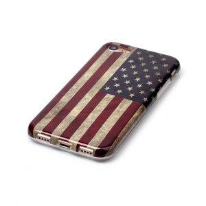 iPhone 7 flexibel hoesje  Amerikaanse vlag