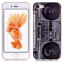 iPhone 7 flexibel hoesje BeatBox radio