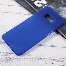 Blauw flexibel hoesje voor de Samsung Galaxy S8