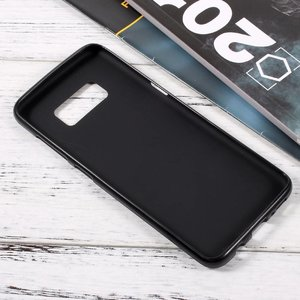 Zwarte flexibel hoesje voor de Samsung Galaxy S8