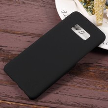 Zwarte hardcase voor Samsung galaxy S8