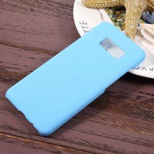 Licht blauwe hardcase voor Samsung galaxy S8