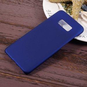 Donker blauwe hardcase voor Samsung galaxy S8