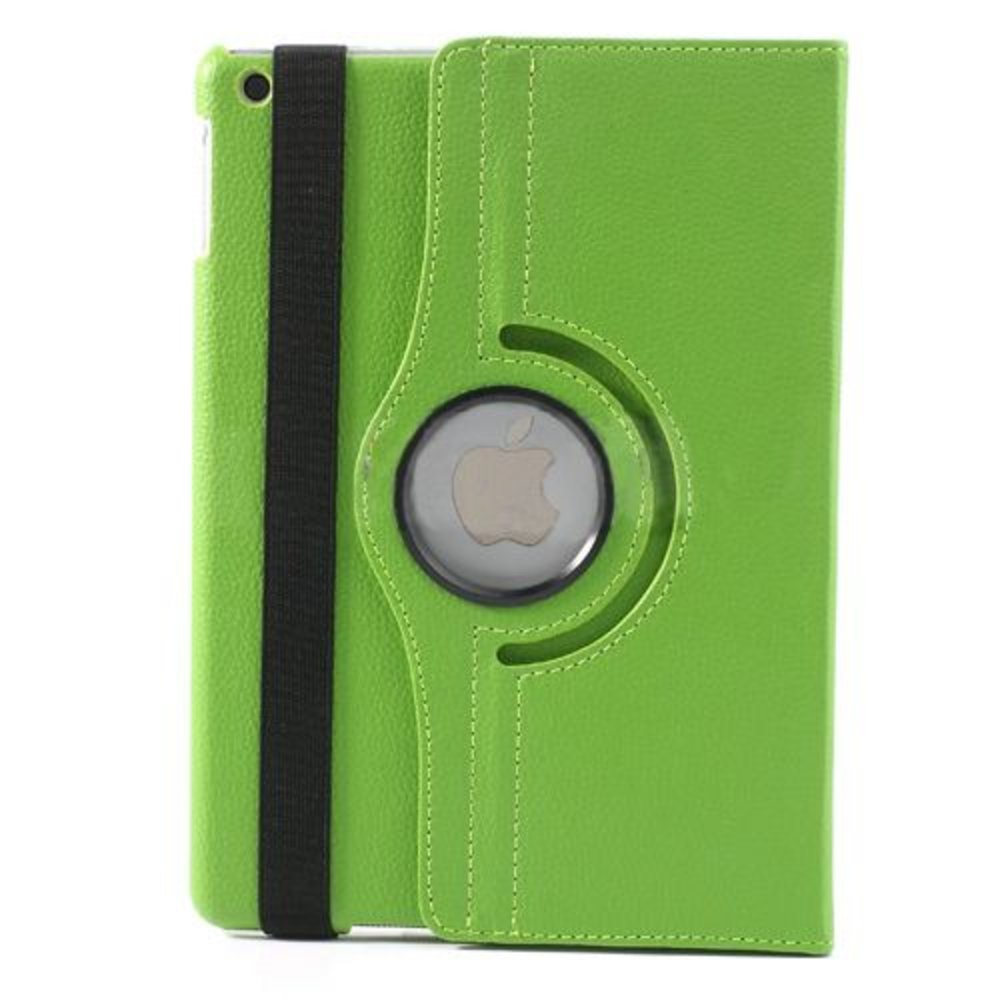 iPad Air hoes 360 roteerbaar PU Leder Groen