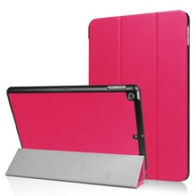 iPad 2017 Smart case II Donker roze