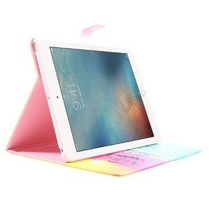 iPad 2017 en Air 1 boekstijl hoes Never stop dreaming