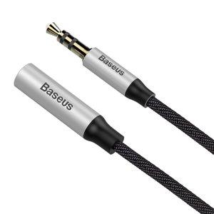 BASEUS Male to female Stereo Aux verleng kabel van 1,5 meter
