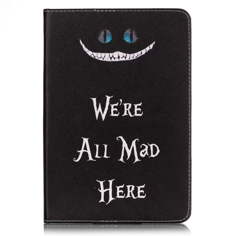 iPad mini 4 boekstijl hoes, We're all mad here