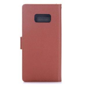 Goospery Bruine samsung Galaxy S8 portemonnee hoesje