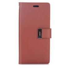 Goospery Bruin samsung Galaxy S8 portemonnee hoesje