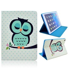 Groen uiltje iPad Air book cover