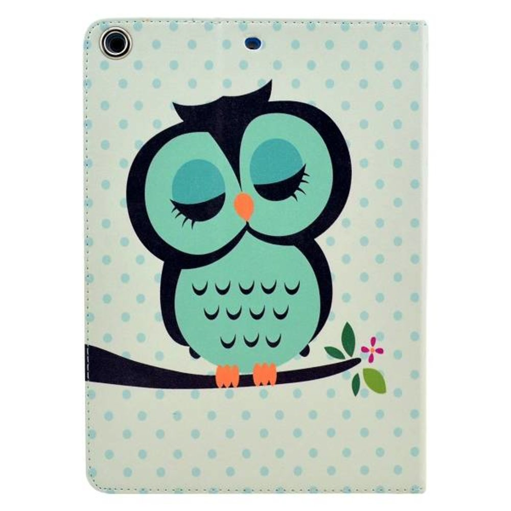 Groen uiltje iPad Air book cover