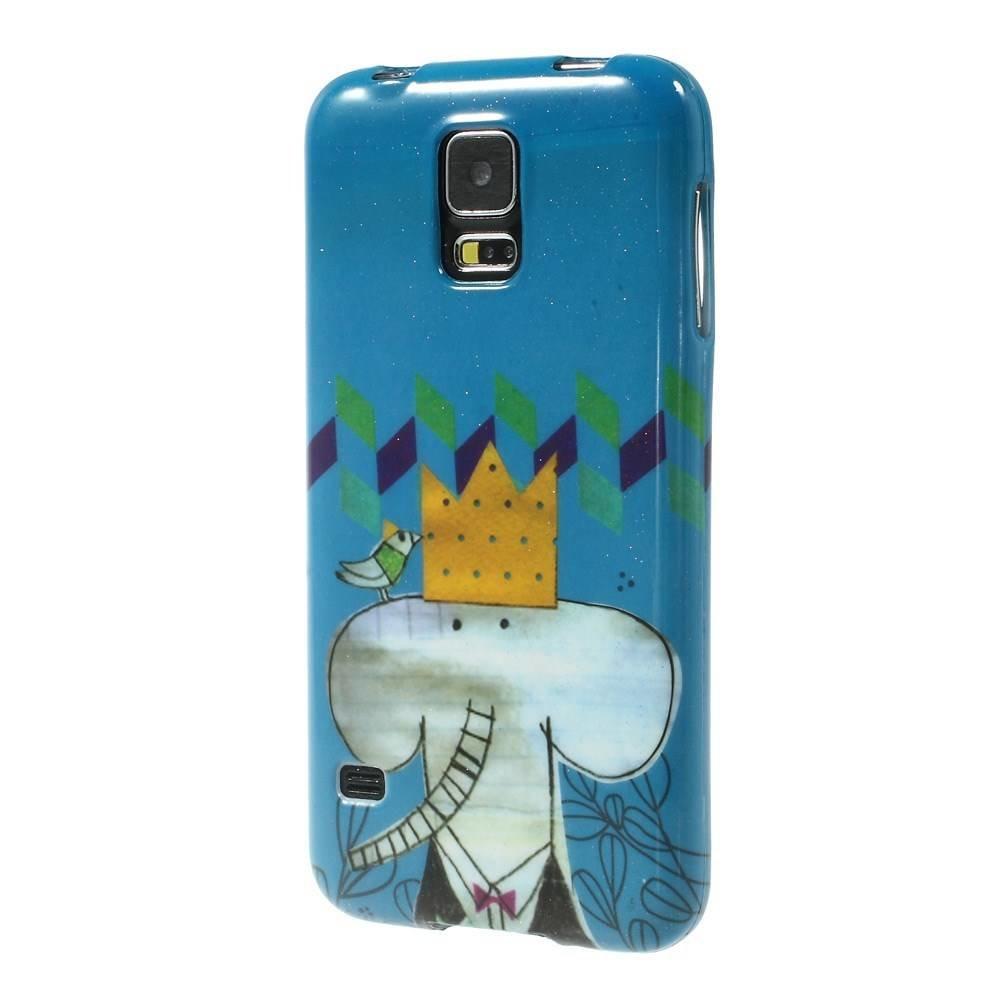 Olifantje Samsung Galaxy S5 hoesje