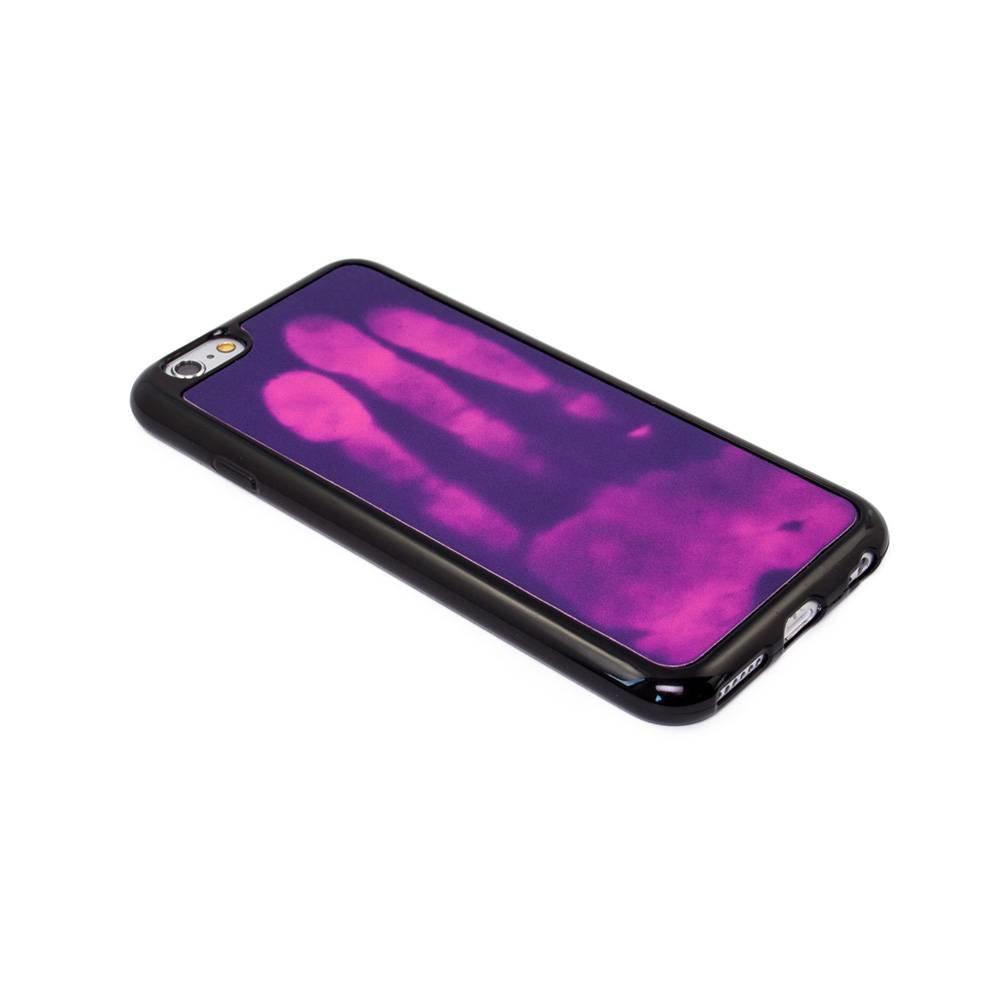 Thermo hoesje Galaxy S6 Paars wordt roze bij warmte