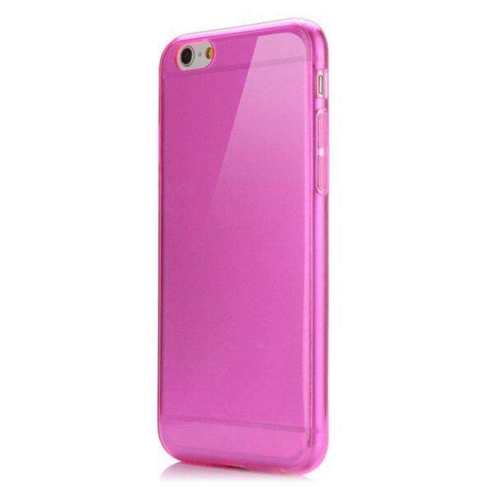 Roze slim fit iPhone 6 TPU hoesje
