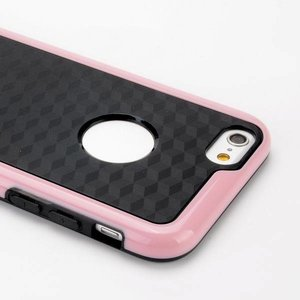 Roze duo protect iPhone 6 TPU hoesje
