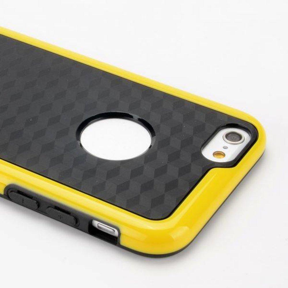 Geel duo protect iPhone 6 TPU hoesje