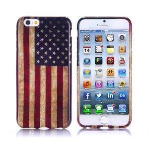 Stars and stripes iPhone 6 TPU hoesje