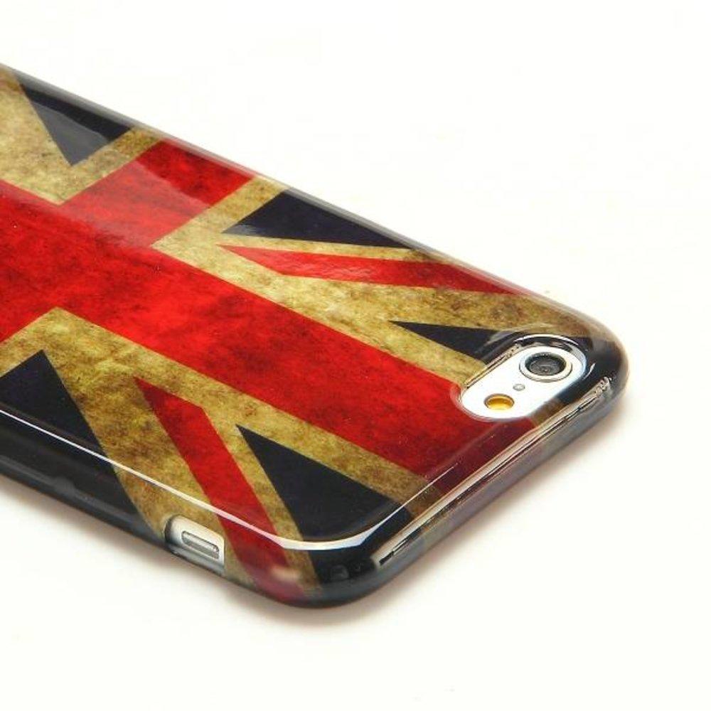 Britse vlag iPhone 6 TPU hoesje