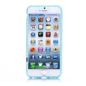 Groen uiltje iPhone 6 TPU hoesje