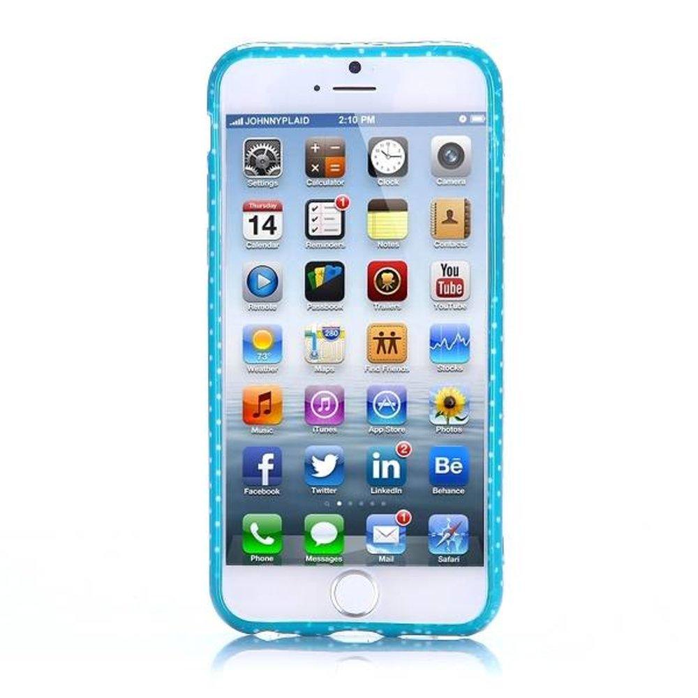 Schattig uiltje iPhone 6 TPU hoesje