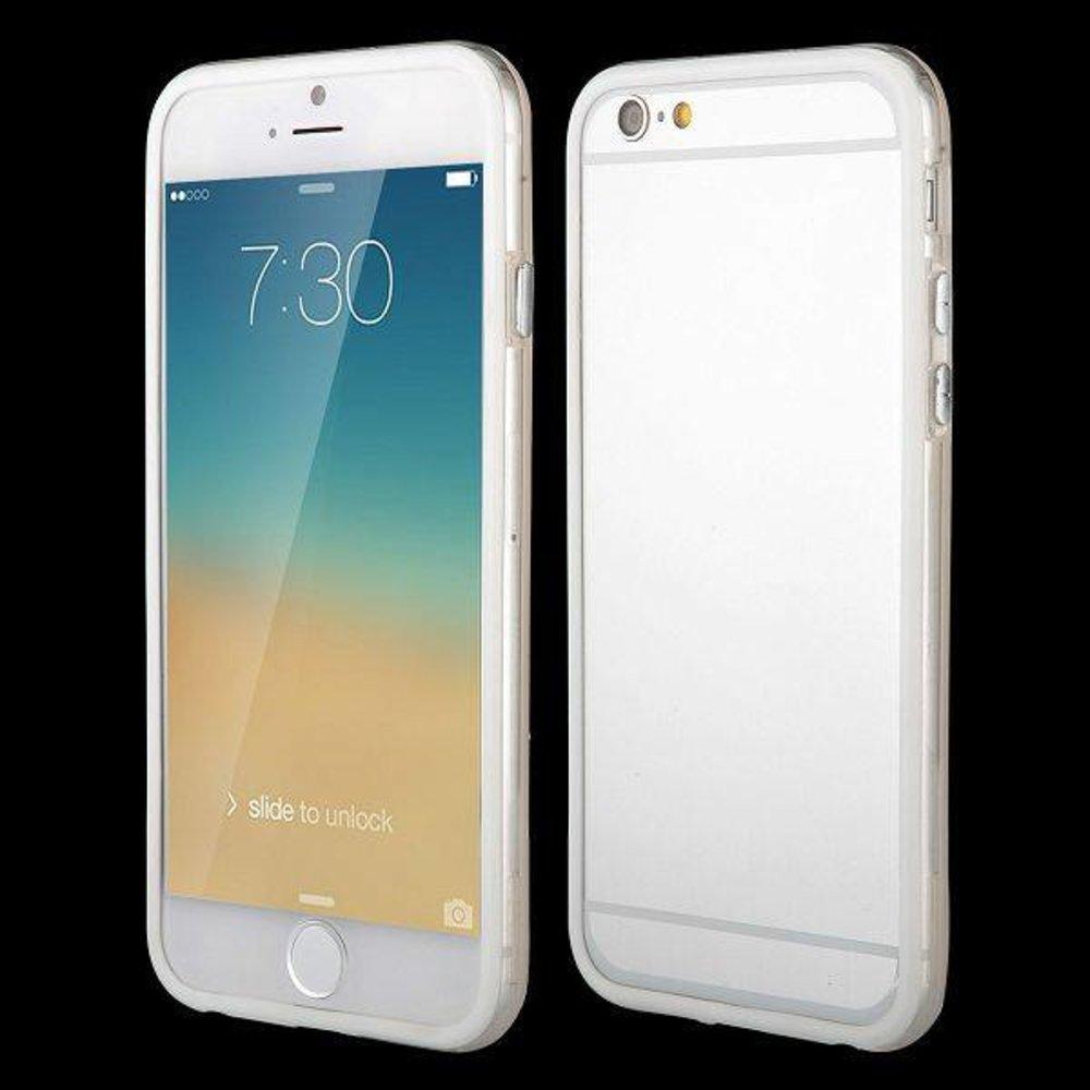 iPhone 6 bumper wit/transparant