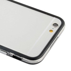 iPhone 6 bumper zwart/transparant