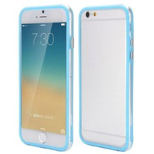 iPhone 6 bumper baby blauw/transparant