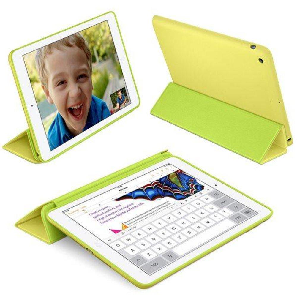 iPad  2017 en Air Smart Case geel