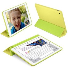 iPad 2017 en Air Smart Case geel