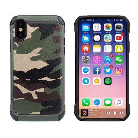 Hardcase camouflage print voor de iPhone X