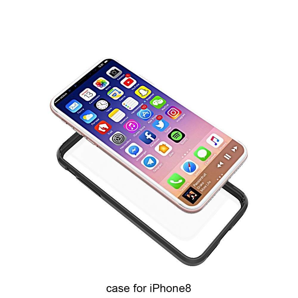 Transparante hardcase voor de iPhone X