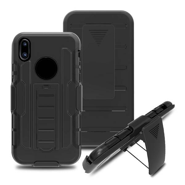 Afbeelding van 3 in 1 heavy duty ultra bescherm hoes voor de iPhone x