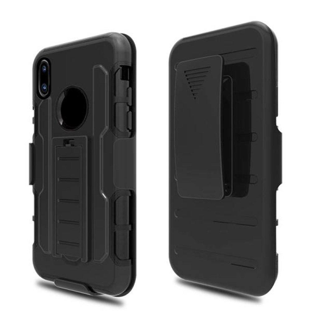 3 in 1 heavy duty ultra bescherm hoes voor de iPhone x